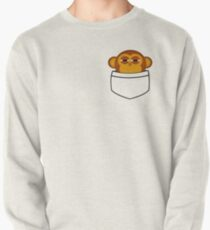 Pocket monkey is highly suspicious Pullover