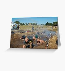 Dirty Mudders Greeting Card