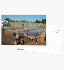 Dirty Mudders Postcards