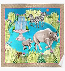 Exotic Encounters by Ro London - Menagerie Collection Poster
