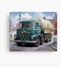 ICI Foden tanker Canvas Print