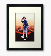 NOW IS THE FUTURE - Marty Mcfly Framed Print