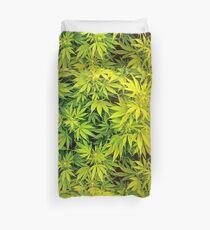 Marijuana Leaves Duvet Cover