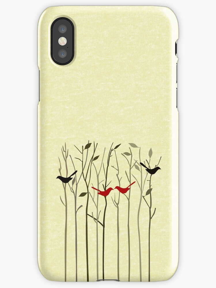 Autumn Love iPhone iPhone & iPod Case by David & Kristine Masterson