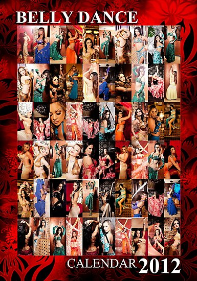 Belly Dance Calendar by farahharaf