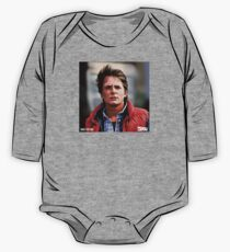 NOW IS THE FUTURE - Marty Mcfly  One Piece - Long Sleeve