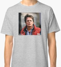 NOW IS THE FUTURE - Marty Mcfly  Classic T-Shirt