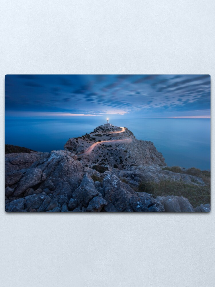 Alternate view of Formentor Lighthouse Metal Print