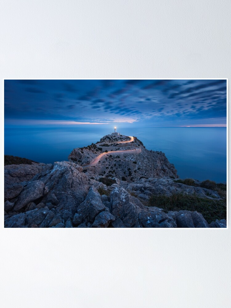 Alternate view of Formentor Lighthouse Poster