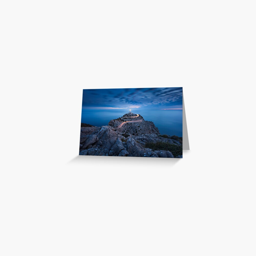 Formentor Lighthouse Greeting Card