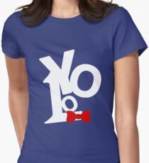 """You Only Live Once """"YOLO"""" Women's Fitted T-Shirt"""