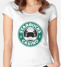 STARBUCK'S Women's Fitted Scoop T-Shirt
