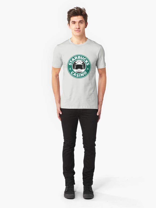 Alternate view of STARBUCK'S Slim Fit T-Shirt
