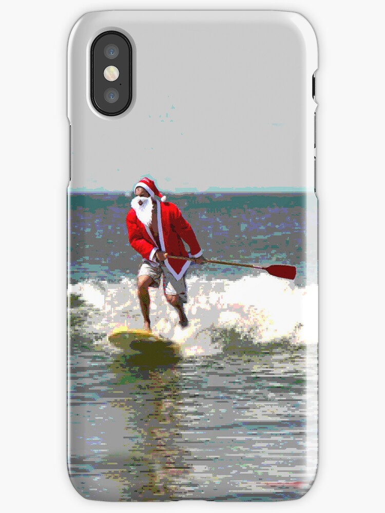 Surfing Santa SUP 1 by andytechie
