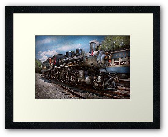 Train - Steam - 385 Fully restored  by Michael Savad
