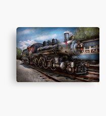 Train - Steam - 385 Fully restored  Canvas Print