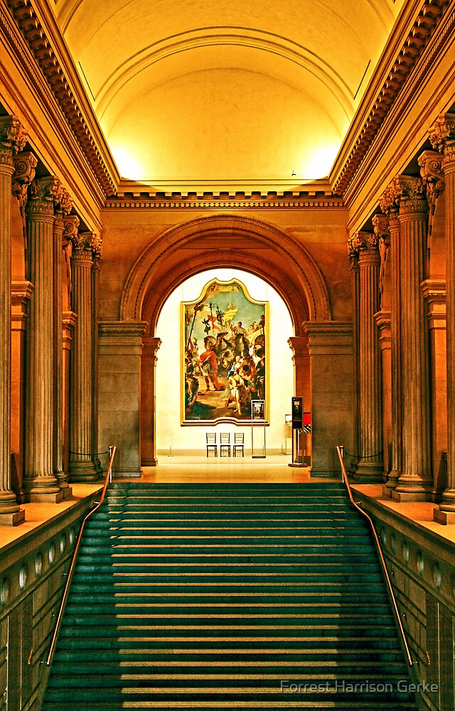 The Met's Grand Staircase by Forrest Harrison Gerke