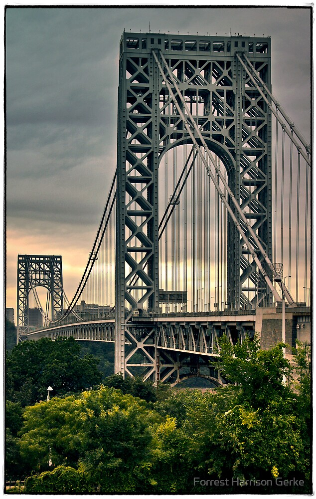George Washington Bridge by Forrest Harrison Gerke
