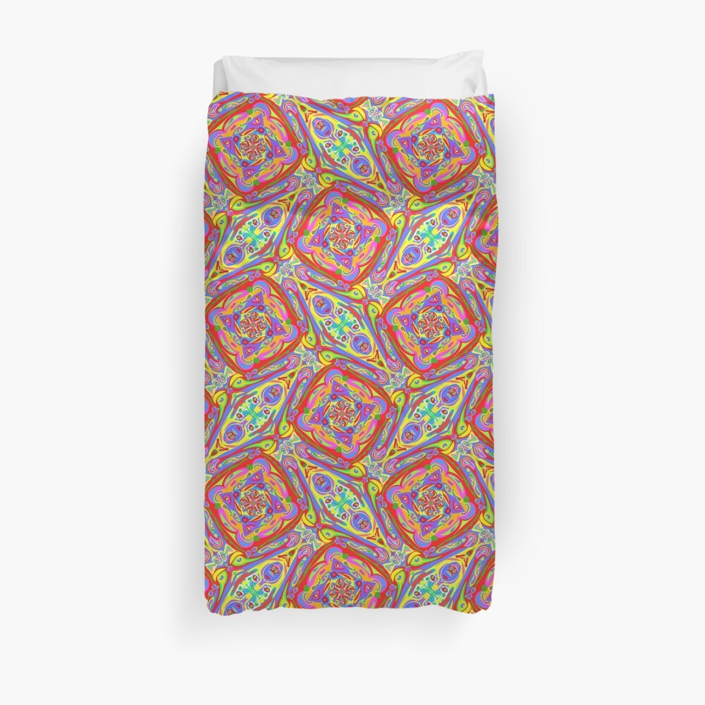 Wayyyyyyy Out There Wanda Duvet Cover