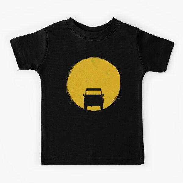 Land Rover Defender sunset Kids T-Shirt