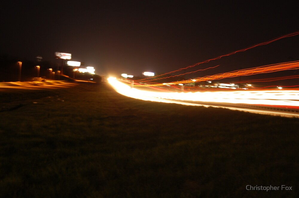 running lights by Christopher Fox