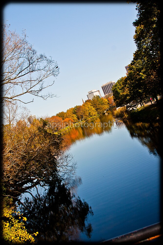 river reflection in color by apsjphotography