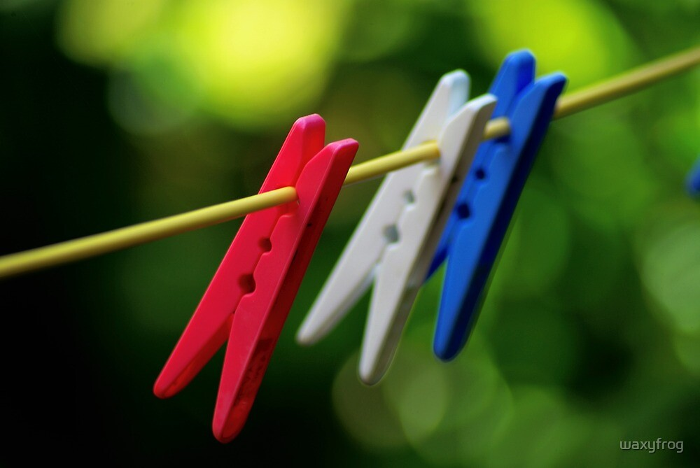 Pegs. by waxyfrog