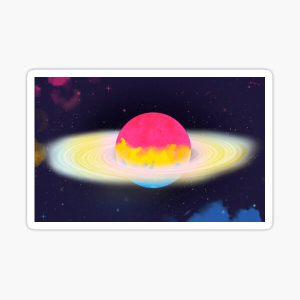 Pansexual Galaxy Sticker