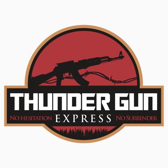 TShirtGifter presents: Thunder Gun Express
