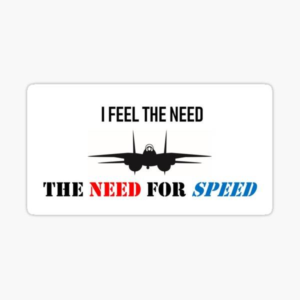 Topgun Need for speed Sticker