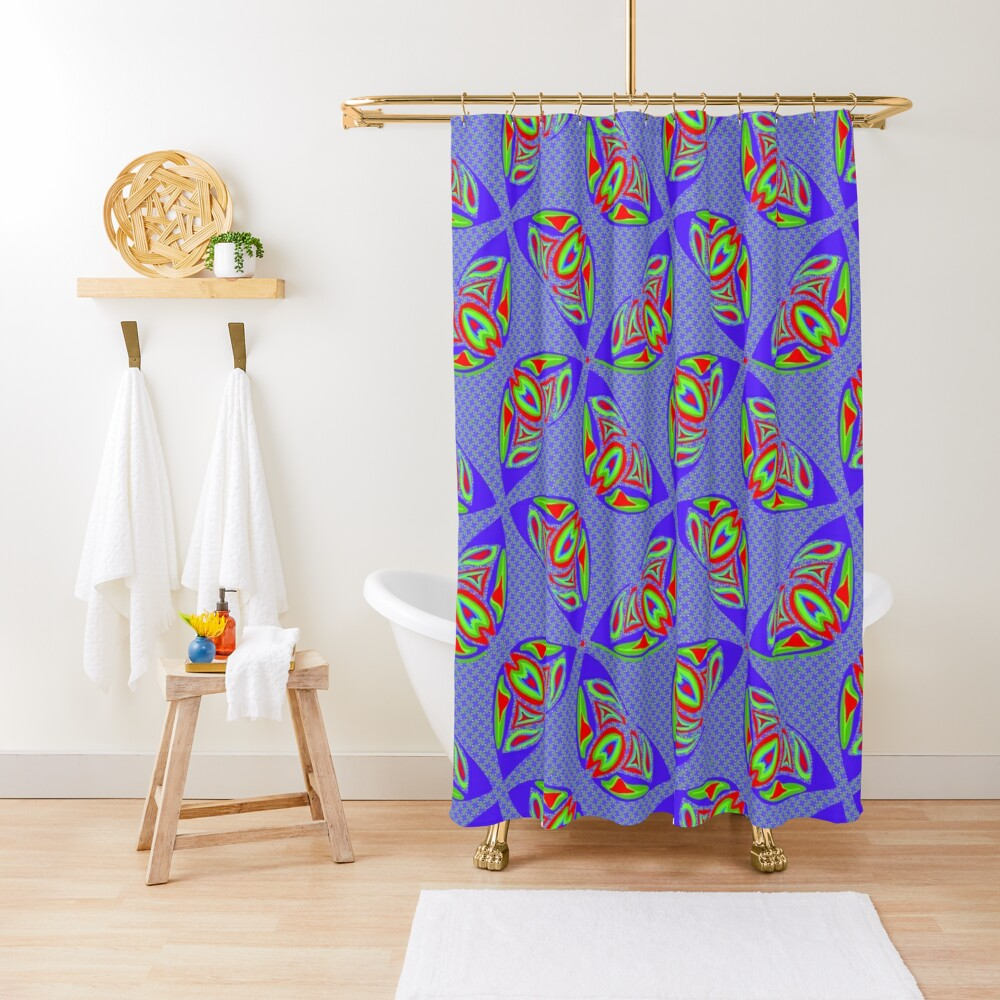 RGB Two Ways And Amore Shower Curtain