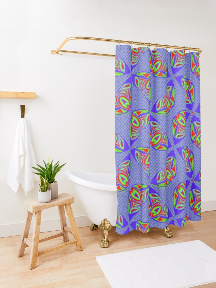 Alternate view of RGB Two Ways And Amore Shower Curtain
