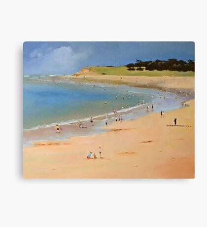 Torquay Front Beach Canvas Print