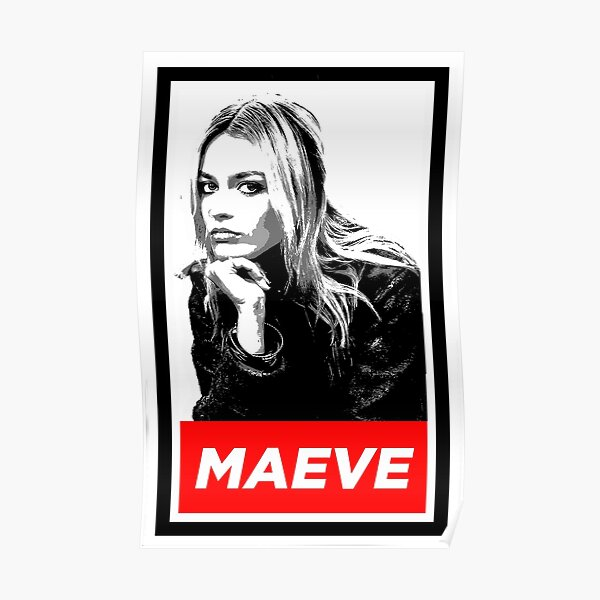 """""""Maeve Sex Education"""" Poster"""