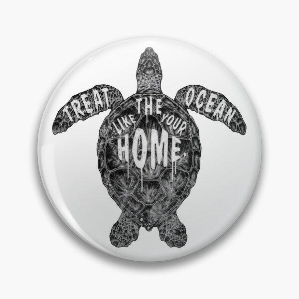 OCEAN OMEGA (MONOCHROME) Pin