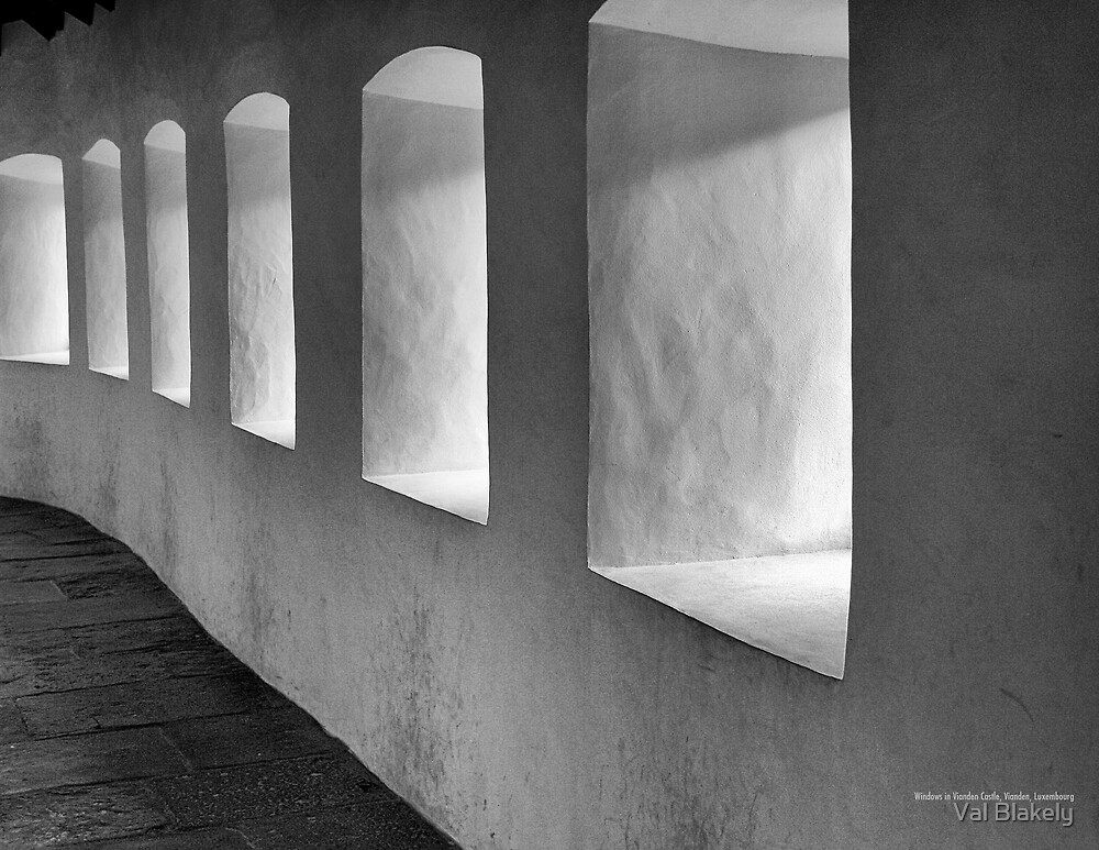 Windowed Hallway by Val Blakely
