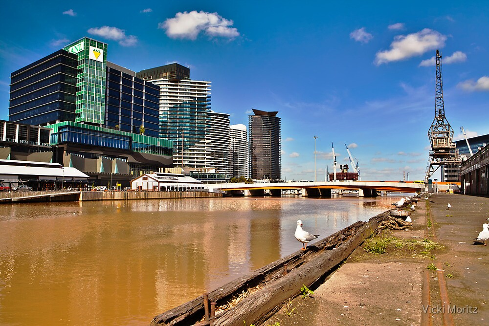 Docklands, South Wharf by Vicki Moritz