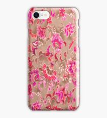 Tossed Allover Pink iPhone Case iPhone Case/Skin