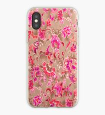 Tossed Allover Pink iPhone Case iPhone Case