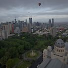 Melbourne Morning Balloon Flight1 by JenniferW