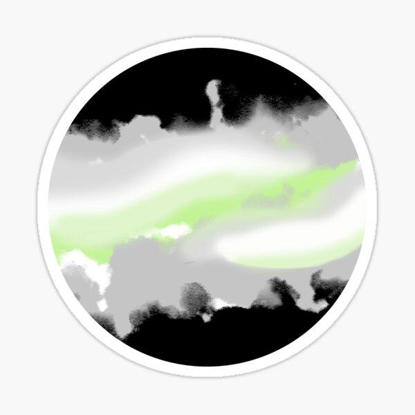 Agender Planet Sticker