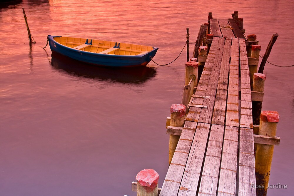 An Afternoon at the Jetty  by Ross Jardine