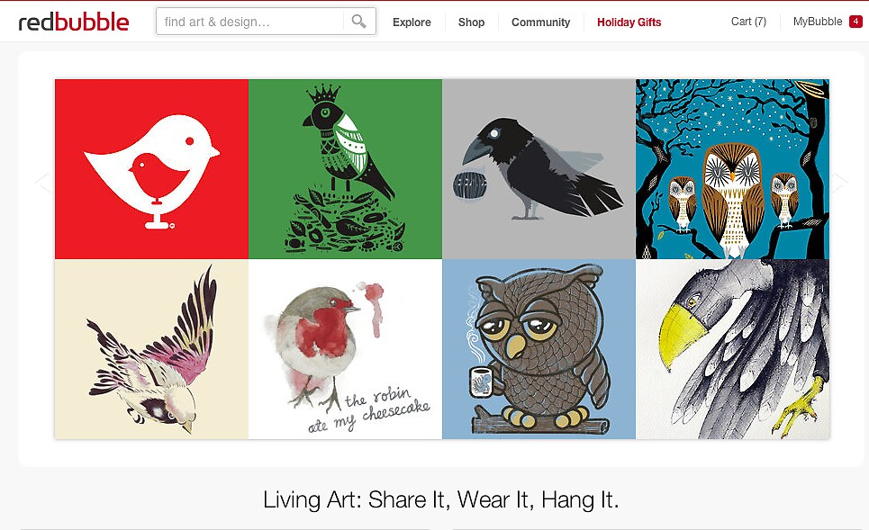 15 December 2011 - Birds of a feather by The RedBubble Homepage