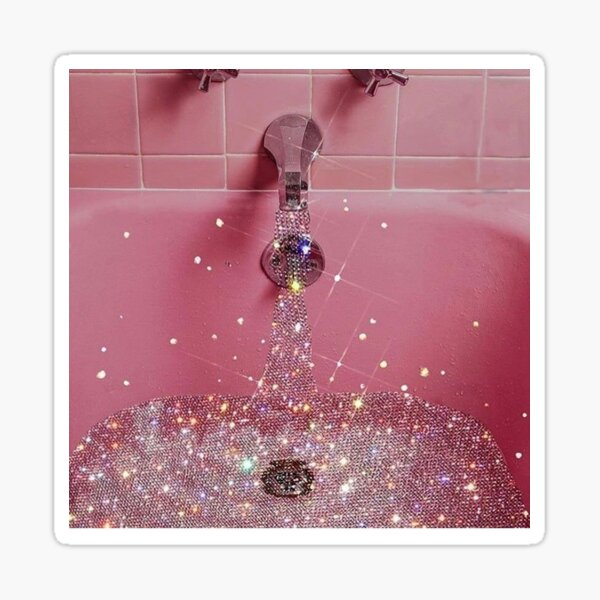 boujee bath pt 2 Sticker