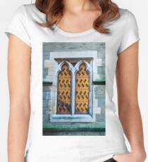 0438 Old Window Women's Fitted Scoop T-Shirt