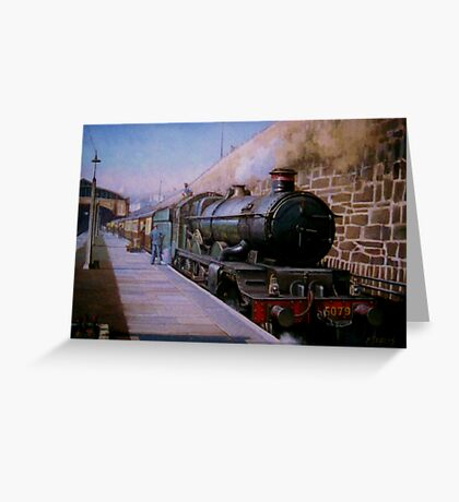 Castle at Penzance Greeting Card