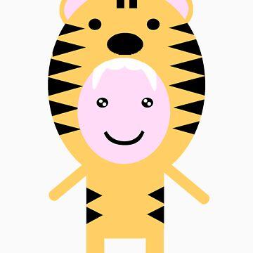 Lovely Tiger by kadiko