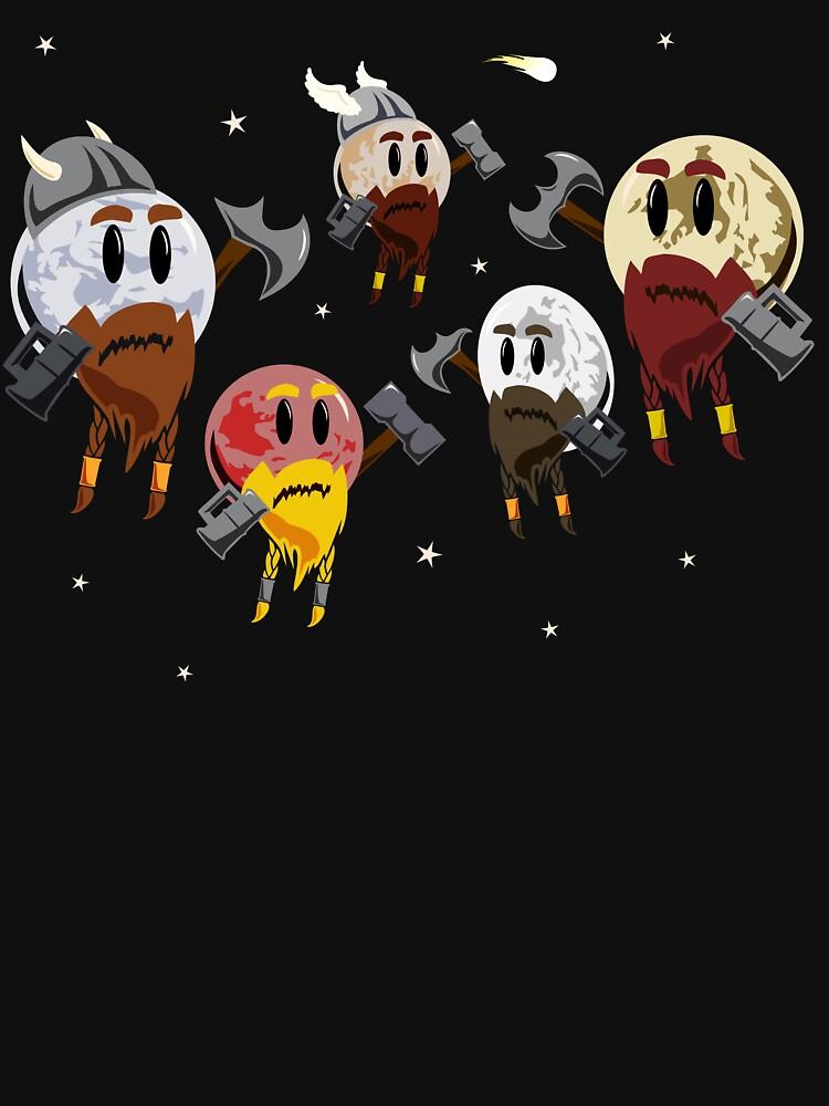 TShirtGifter presents: Dwarf Planets | Unisex T-Shirt