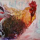 Ruffled Rooster by Pauline Winwood
