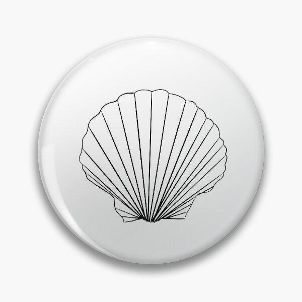 Esquisse de coquillage Badge